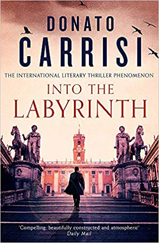Carrisi's INTO THE LABYRINTH published in English