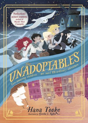 THE UNADOPTABLES wins the Oxfordshire Book Award (Primary School Category)